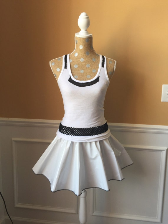 White trooper inspired outer space running costume outfit for Outer space outfit