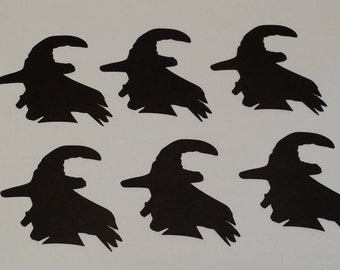 Witches Die Cut set of 6