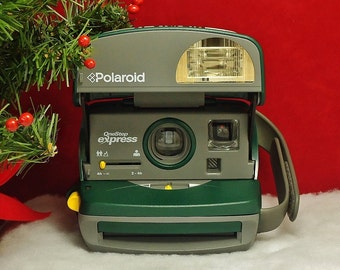 Vintage POLAROID 600 OneStep Express Instant Print Film Camera, Circa: 1990's, Wonderful!