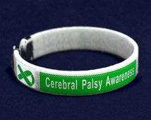 Cerebral Palsy awareness bangle bracelet Pack (4 per pack)