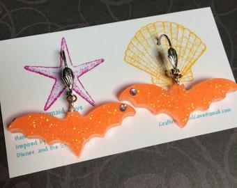 Sparkle Bat Earrings