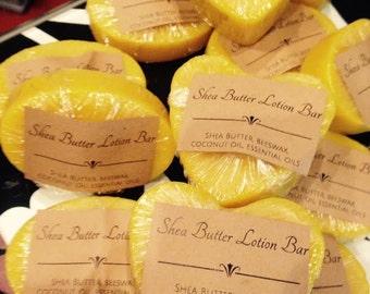 Shea Butter Lotion Bar-Heart Shape, 2.4 Oz, Vanilla Sandalwood Fragrance