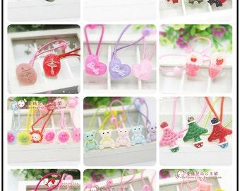 Yuan's Blythe Doll Accessories /Cute /Handmade /Elastic/ Hair Rope