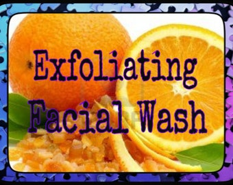 Orange Exfoliating Facial Wash
