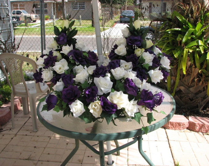 Altar arrangement and wedding table decoration 3 large pieces
