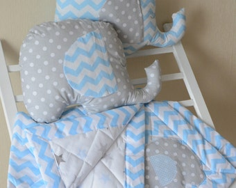 Elephant pillow toy baby room decorations