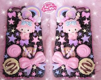 Custom Case, Decoden Phone Case, Iphone Case, Kawaii Decoden, Cute Iphone Case