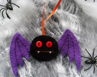 Handmade Bat Halloween Hanging Decoration