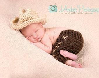 Crochet Baby boy pants