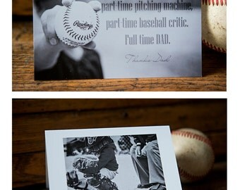 Baseball Father's Day Card