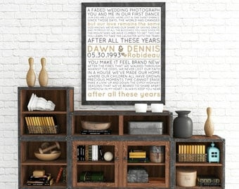 "Personalized ""Couple's Song"" Wall Art"
