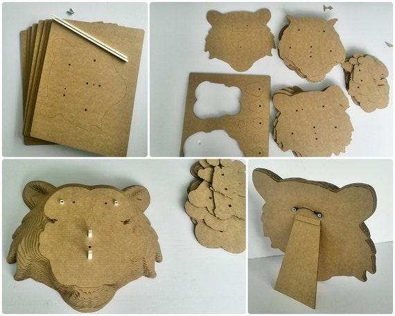 3d lion puzzle instructions