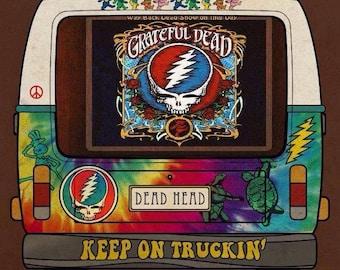 Grateful Dead Bus Tee