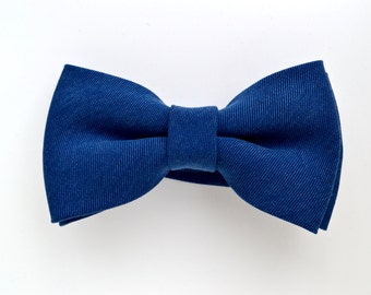 Mineral Blue Bow Tie