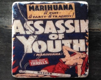 Assassin of Youth Marihuana Tile