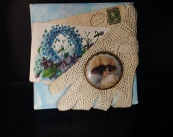 Vintage Victorian Mixed Media Collage
