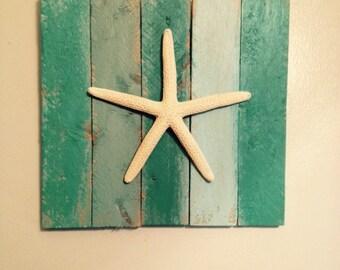 Sandfence Starfish Hanging