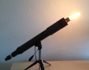 Upcycled Telescope Lamp