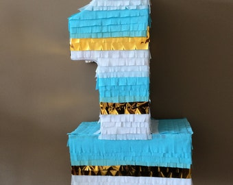 Pinata for first birthday,Pinata number one