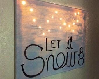 Light Canvas - Let it Snow
