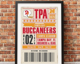 "Shop ""tampa bay buccaneers"" in Art & Collectibles"