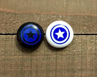 Marvel Captain America Earrings