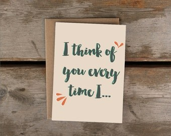 I think if you overtime I../friendship, love, greeting card