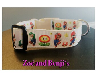 Super Mario Dog Collar