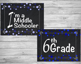 Middle School Signs *DIGITAL*