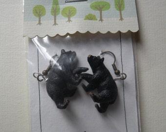 Bear earrings / Bear earrings