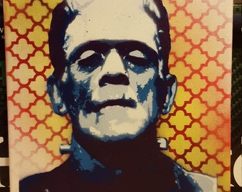9x12 Frankenstein's Monster
