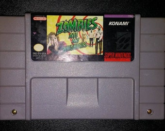 Zombies Ate my neighbors Super Nintendo SNES