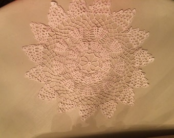 Hand Crocheted Vintage Doily