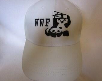 wwf pandas hat hitting pandas with chair hat