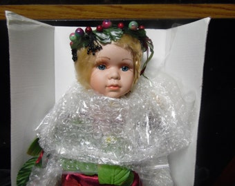 Reserved Heritage Holiday Fairy Doll