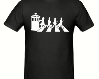 Dr Who Abbey Road t shirt, boys t shirt sizes 5-15 years,children's t shirt