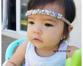 AIDAH boho floral headband