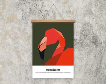 A4 Poster Creatu:re