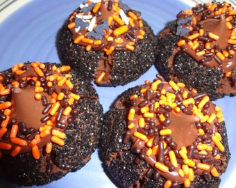 So Soft Homemade Witch Hat Peanut Butter Cookies (2 Dozen)