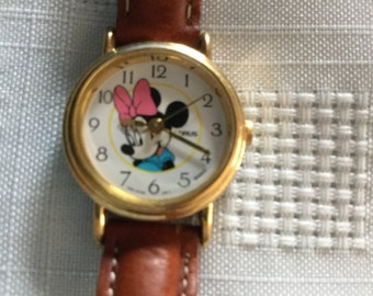 LORUS Minnie Mouse watch  NEW Battery!
