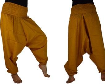 Harem Trouser, Afghani Pant, Sarouel Trouser Cotton