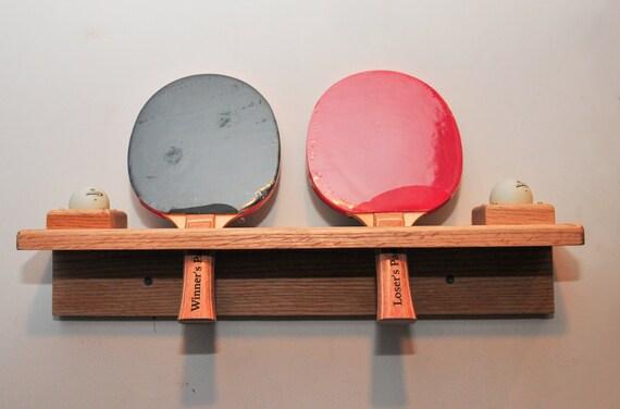 Ping Pong Paddle Holder Mount