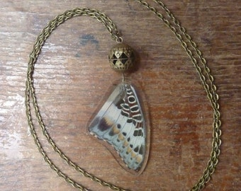 Necklace reversible Butterfly