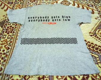 "vintage 1997 Sheryl Crow "" everbody gets high everbody gets low "" tshirt"