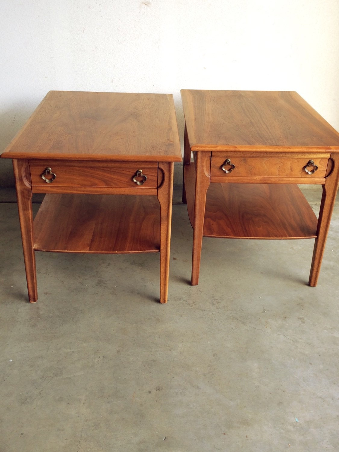 Modern wood coffee table and end tables coffee tables with with - Mersman Side Tables Circa 1950 S