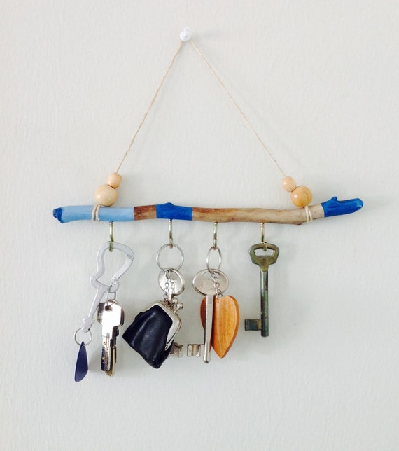 Key Holder For Wall Driftwood Wall Art Driftwood Keys