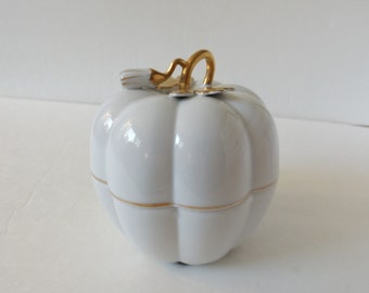 Andrea By Sadek Porcelain Pumpkin
