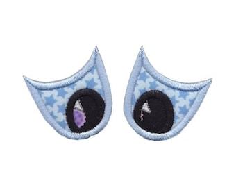Halloween Eyes Applique Design 6 Machine Embroidery Design 4x4 5x7 6x10