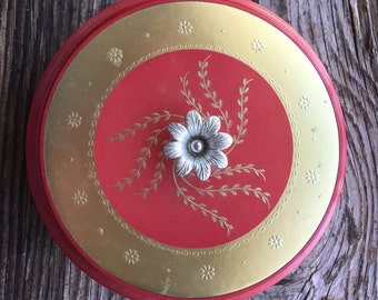 Vintage Avon lidded dusting powder container