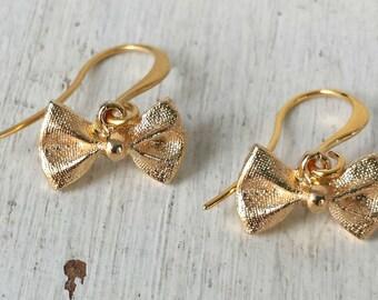 Gold Loop Earrings